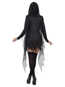 Adult Fever Sexy Reaper Costume - Side View