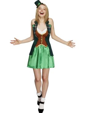 Adult Fever St Patricks Costume Thumbnail