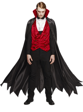 Adult Fever Vampire Costume Couples Costume