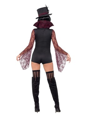 Adult Fever Vampire Costume - Side View