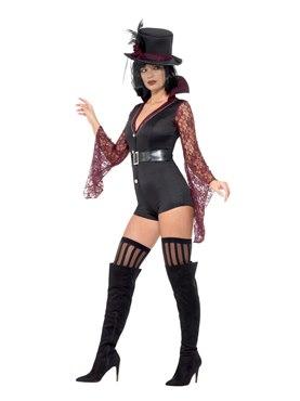 Adult Fever Vampire Costume - Back View