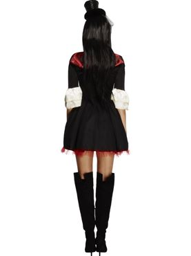 Adult Fever Vampire Princess Costume - Side View