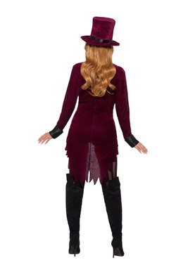 Adult Fever Voodoo Costume - Side View