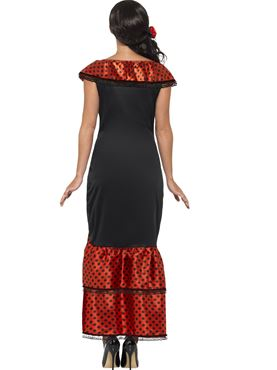 Adult Flamenco Senorita Costume - Side View
