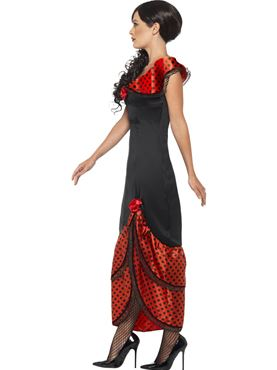 Adult Flamenco Senorita Costume - Back View
