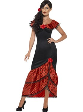 Adult Flamenco Senorita Costume