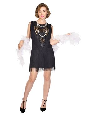 Adult Flapper Lady Roxy Costume