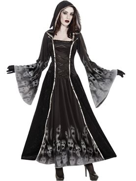Adult Forgotten Souls Dress Costume Couples Costume