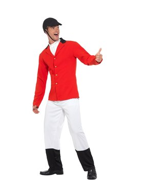 Adult Fox Hunting Costume - Back View