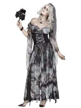 Adult Cemetery Bride Costume