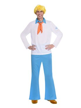 Adult Fred Scooby Doo Costume - Side View