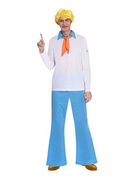 Adult Fred Scooby Doo Costume - Back View