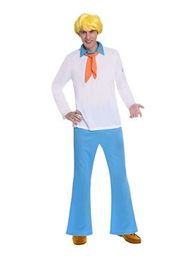 Adult Fred Scooby Doo Costume Couples Costume