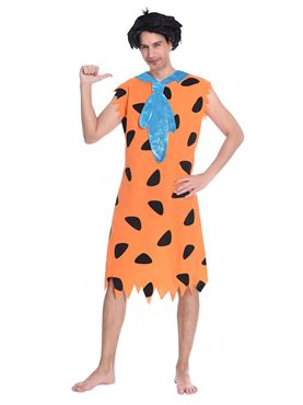 Adult Fred Flintstone Costume - Back View