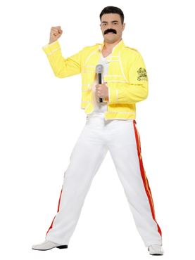 Adult Freddie Mercury Costume - Side View