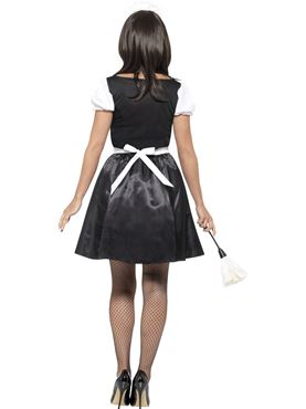 Adult French Maid Costume - Side View
