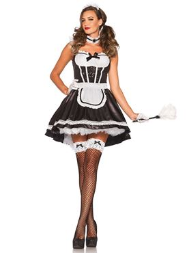 Adult French Maid Darling Costume