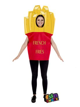 Adult Fries Costume Couples Costume