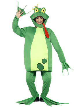 Adult Frog Prince Costume Couples Costume