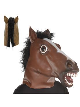 Adult Full Head Horse Mask