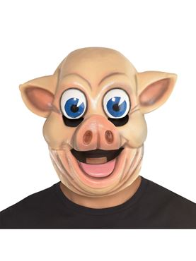 Adult Full Head Pig Mask