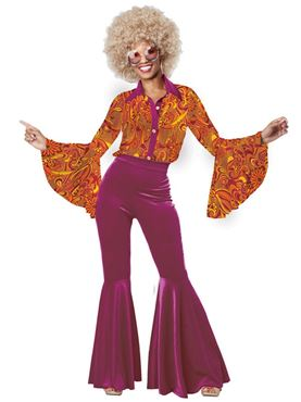 Adult Funky Disco Diva Costume