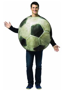 Adult Get Real Football Costume