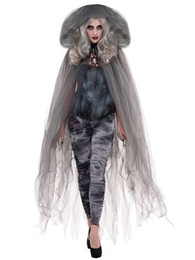 Adult Zombie Ghost Cape