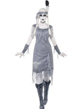 Adult Ghost Town Indian Princess Costume Couples Costume