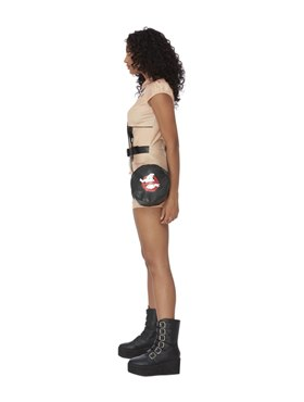 Adult Ghostbusters Hotpant Costume - Back View