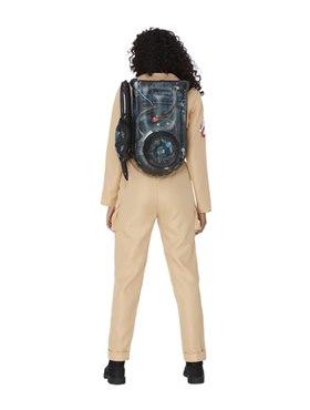 Adult Ghostbusters Ladies Costume - Side View