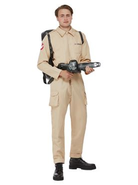 Adult Ghostbusters Men's Costume - Back View