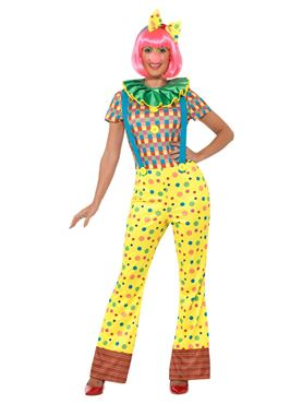 Adult Giggles the Clown Costume - Side View