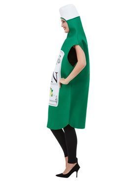 Adult Gin Bottle Costume - Side View