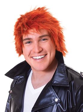 Adult Ginger Chisel Wig