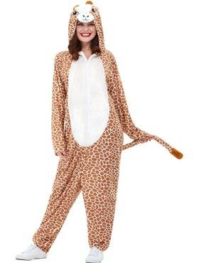Adult Giraffe Costume - Back View