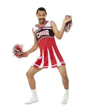Adult Give Me A...Cheerleader Costume