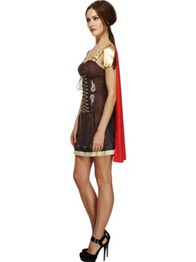 Adult Gladiator Costume - Back View