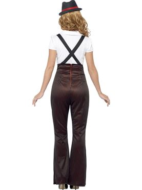 Adult Glam Gangster Costume - Side View
