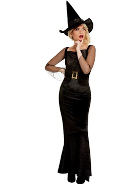 Adult Glam Witch Costume