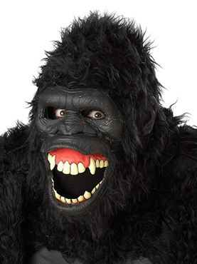 Adult Goin' Ape Ani Motion Gorrilla Mask