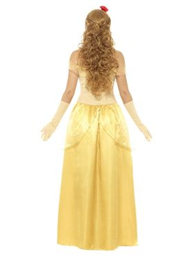 Adult Gold Princess Costume - Side View