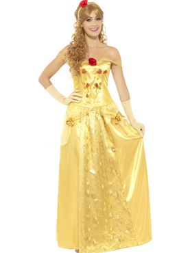 Adult Gold Princess Costume