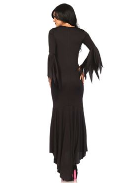 Adult Gothic Dress - Back View