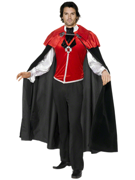 Adult Gothic Manor Vampire Costume Couples Costume