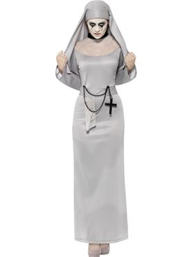 Adult Gothic Nun Costume Thumbnail