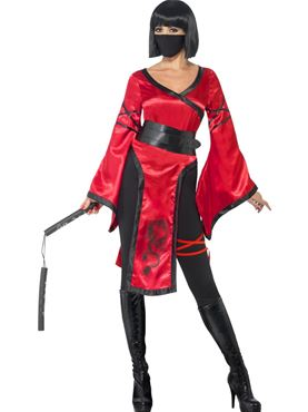 Adult Shadow Warrior Costume