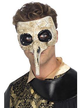 Adult Venetian Plague Doctor Mask