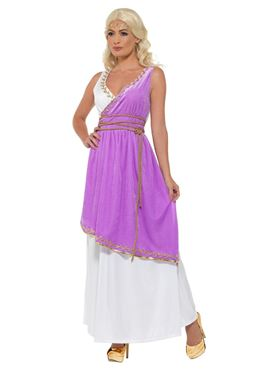 Adult Grecian Goddess Costume - Side View