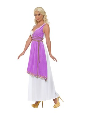Adult Grecian Goddess Costume - Back View
